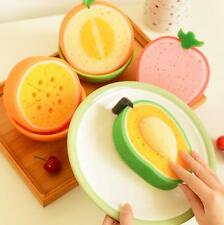 Kitchen  Clean cloth Funny Creative Fruit Lovely Washing dishes Scouring pad