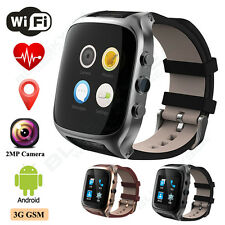 Smart Wrist Watch SIM Phone Mate Bluetooth WiFi W/2MP Camera For Android Samsung