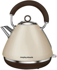 Morphy Richards Sand Traditional Pyramid Kettle - 102101