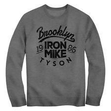 New Adult Authentic Mike Tyson Iron Mike Adult Sweatshirt Sizes S-2XL