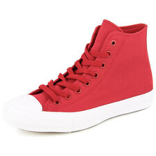 New Men's Converse Chuck Taylor All Star Ii Hi Red/white Footwear Hi-top Sneaker
