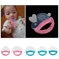 Baby Rattle Teether Infant Molar Tooth Care Pacifier Bear Elephant Rabbit Toys