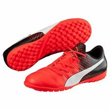 Puma Childrens Kids Football Soccer evoPOWER 4.3 Astroturf Trainers - Red