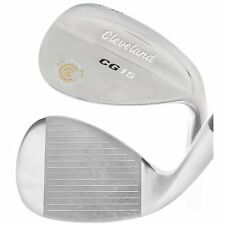 CLEVELAND CG15 TOUR ZIP SATIN CHROME 60* LOB WEDGE STEEL 60-8 TRACTION  USED