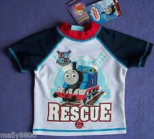 Thomas Tank Engine - Boys - Rash Swim Top - Bathers -  Size 1