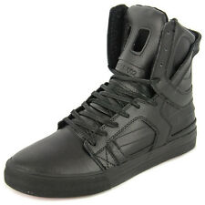 New Men's Supra Skytop Ii Black/black/red Footwear Hi-top Sneakers Boots