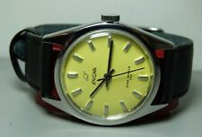 VINTAGE ENICAR WINDING STAR JEWELS SWISS MENS WRIST WATCH B262 OLD USED ANTIQUE