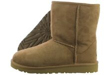UGG Kids Classic 5251-CHE Chestnut Sheepskin Suede Winter Snow Boots Youth