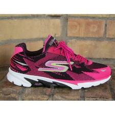 Shoes Skechers Go Run 4 - 2016 Memory Foam 13996 BKHP Black Black Hot Pink Woman