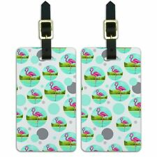 Luggage Suitcase Carry-On ID Tags Set of 2 Birds and Raptors