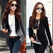 Women Zipper Long Sleeve Slim Casual Suits Lady Jacket Coat Tops Outwear Warm
