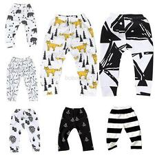 Children Baby Boy Girl Toddler Bottom Trousers Harem Pants PP Leggings Pants