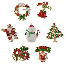 Colorful Brooch Pin Decoration for Xmas Christmas Party Favor Gifts