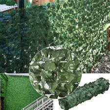 Artificial Ivy Hedge Fencing Faux Leaf Privacy Fence Screen Decoration Panels 5A