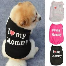 Pet Cat Dog Clothes T Shirt Puppy Pet Dog Cute Cotton Vest Coat Apparel Costume
