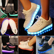 LED Light Up Sneaker Men Women Lovers Luminous Casual Shoes Sports Shoes Casual