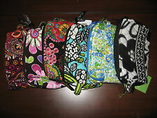 Vera Bradley Small Cosmetic Bag Travel Case NWT NEW - Choose Your Pattern!