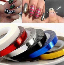 Tape Line Striping Sticker Decoration For Nail Polish Nail Art Rolls Tips DIY 3D