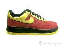 NIKE AIR FORCE 1 LOW CB34 TEAM RED GOLD SIZE 4.5 38 RARE TRAINERS LUNAR DUNK