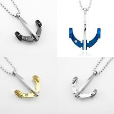 Arrow Necklace Archery Bow Pendant Charm Jewelry Stainless Steel Fashion Gift
