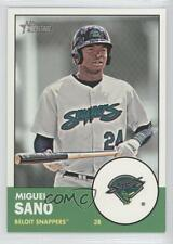 2012 Topps Heritage Minor League Edition #6.1 Miguel Sano Beloit Snappers Card