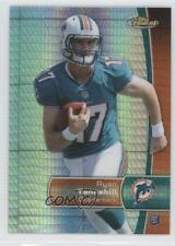 2012 Topps Finest Prism Refractor #135 Ryan Tannehill Miami Dolphins Rookie Card