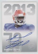 2013 Press Pass Signings #PPS-SF Sharrif Floyd Florida Gators Auto Football Card
