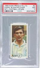 1958 Kane International Football Stars #2 Danny Blanchflower PSA 7 Soccer Card