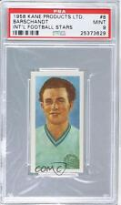1958 Kane International Football Stars #8 Barschandt PSA 9 Austria Soccer Card