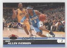 2007-08 Topps Stadium Club 1st Day Issue #33 Allen Iverson Denver Nuggets Card