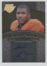 2012 Press Pass Fanfare Gold #AB Andre Branch Clemson Tigers Auto Football Card