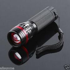 3500 Lumens Zoomable CREE XML T6 LED 18650 Flashlight Power Torch Light Lamp US
