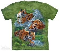WATER TIGER COLLAGE CHILD T-SHIRT THE MOUNTAIN