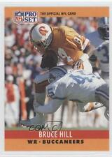 1990 Pro Set #312 Bruce Hill Tampa Bay Buccaneers Football Card