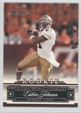 2007 Playoff Prestige #163 Calvin Johnson Detroit Lions RC Rookie Football Card