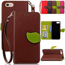 Magnetic Folio Leather Card Wallet Slim Case Cover For iPod Touch 5th 6th Gen