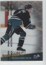1998 Topps Finest #1 Teemu Selanne Anaheim Ducks (Mighty of Anaheim) Hockey Card