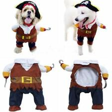 Funny Pirate Apparel For Dog Cat Pet Suit Puppy Hoodie Cosplay Costume 4 Sizes