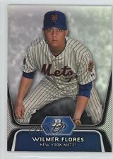 2012 Bowman Platinum Prospects #BPP12 Wilmer Flores New York Mets Baseball Card