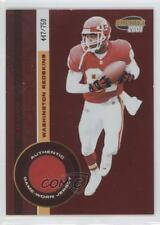 2001 Pacific Invincible Red #249 Kevin Lockett Washington Redskins Football Card