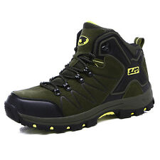 GOMNEAR men spring trail hiking boots antiskid wearable breathable outdoor shoes