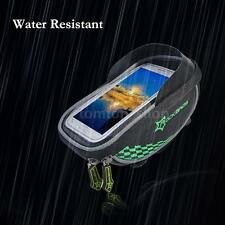 Rainproof Bike Handlebar Phone Storage Bag Holder Bicycle Touch Screen Bag H5W4