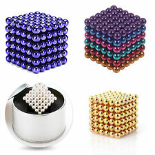5mm 216pcs Magnet Balls Magic Beads 3D Puzzle Ball Sphere Magnetic Ball Xmas Gif