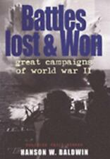 Battles Lost and Won: Great Campaigns of World War 2 (Men at War)  (NoDust)