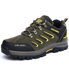 Mens Trail Hiking Trekking Shoes Outdoor Climb Antiskid Waterproof Shoes GOMNEAR