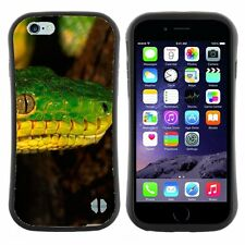 Anti-Shock Tpu Case Bumper Cover For Apple iPhone green snake