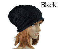 Winter Lady Women Girl Warm Hat Knitting Wool Diamond Hats Head Cap
