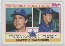 1983 Topps #711 Bruce Bochte Jim Beattie Seattle Mariners Baseball Card