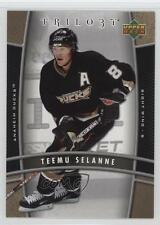 2006 Upper Deck Trilogy #2 Teemu Selanne Anaheim Ducks (Mighty of Anaheim) Card