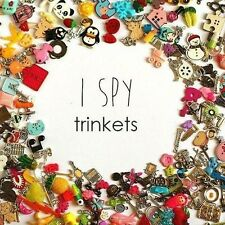 I Spy Trinkets for I Spy Bag Bottle Game, ABC, Color matching, Educational Toy